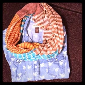 Accessories - Colorful fall scarf